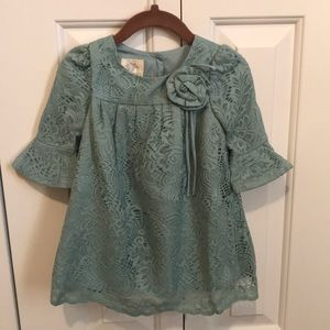 Laura Ashley lace baby dress